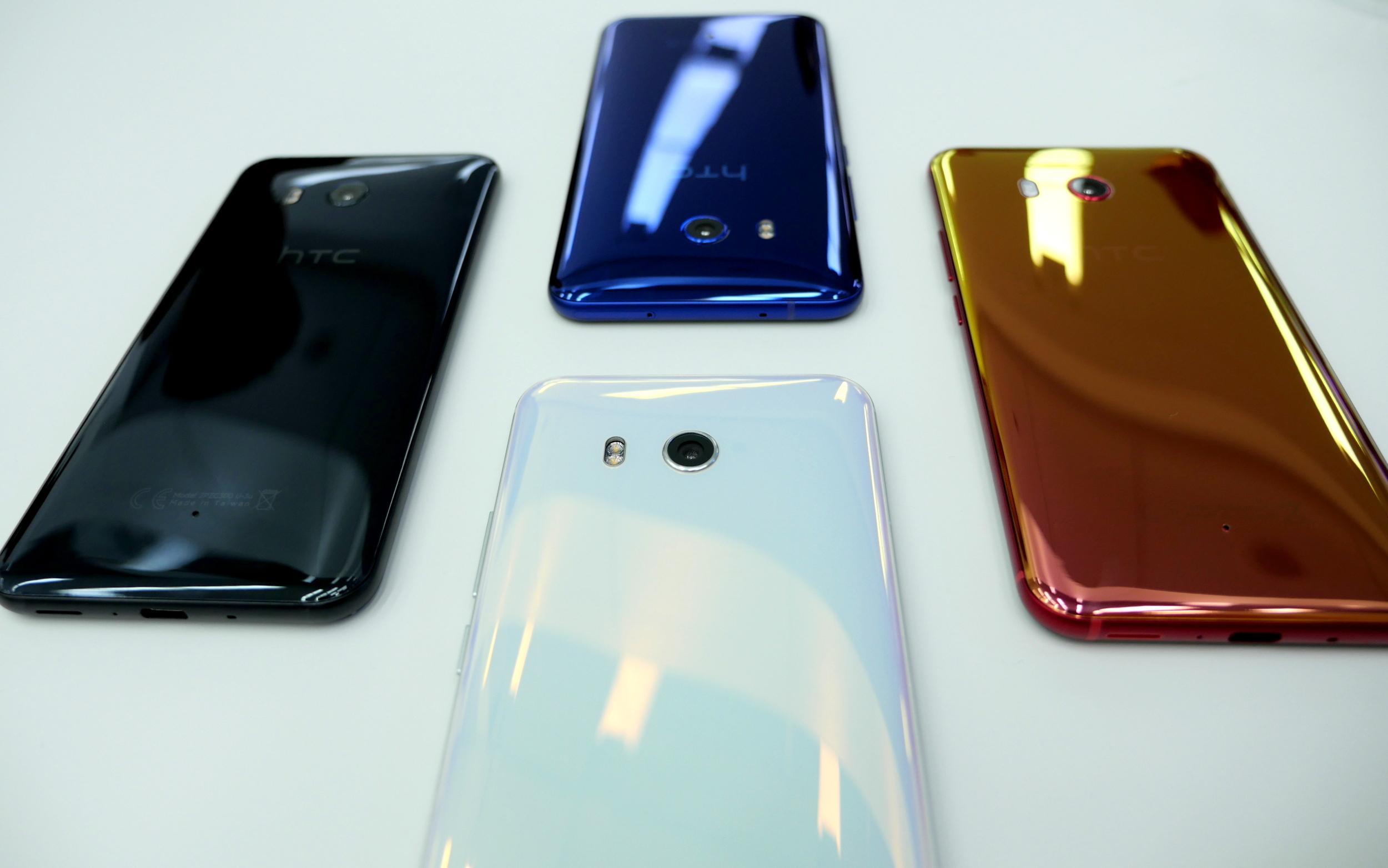 Живые фотографии HTC U 11 Plus