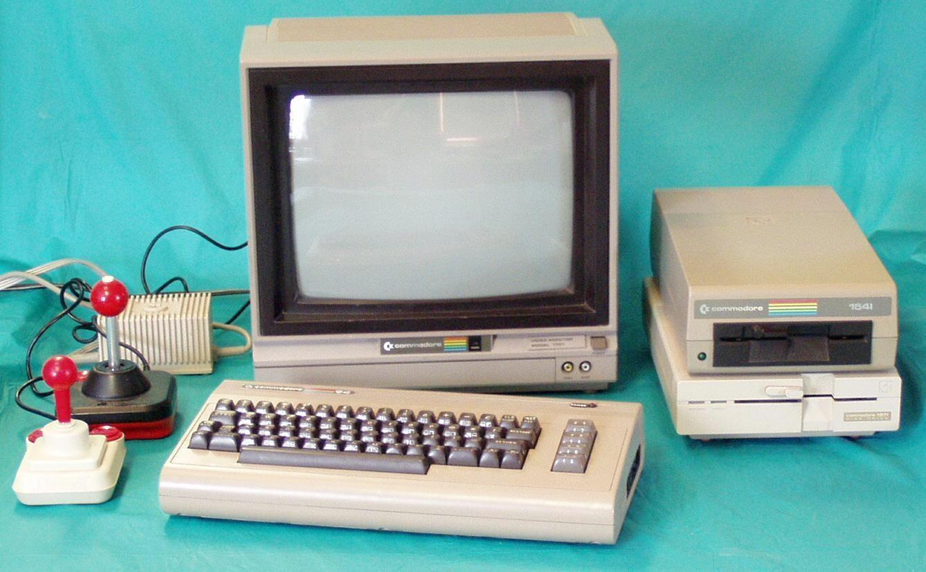 Виртуальная реальность пришла на Commodore 64