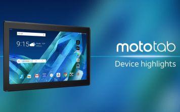 Lenovo Moto Tab - новый Android-планшет с двумя фронтальными колонками