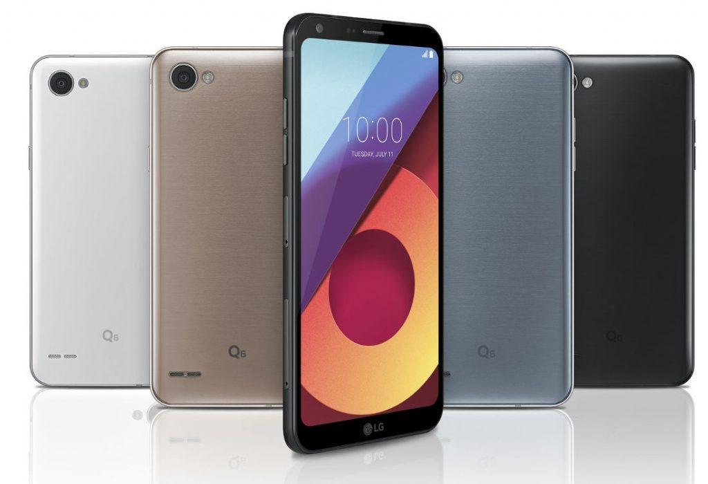 LG Q6 - стильный мобильный телефон