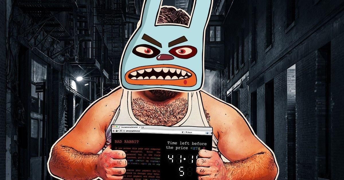 Атака шифровальщика Bad Rabbit продолжается