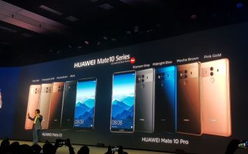 Представлен Huawei Mate 10 Pro