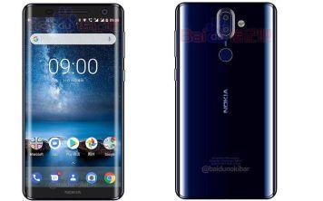 Nokia 9 показали в синем цвете