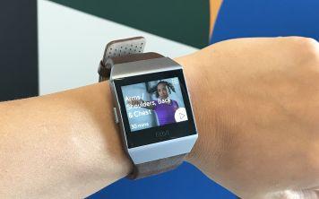 Умные часы Fitbit Ionic выйдут 1 октября