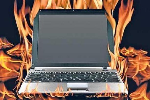 Перегревается ноутбук