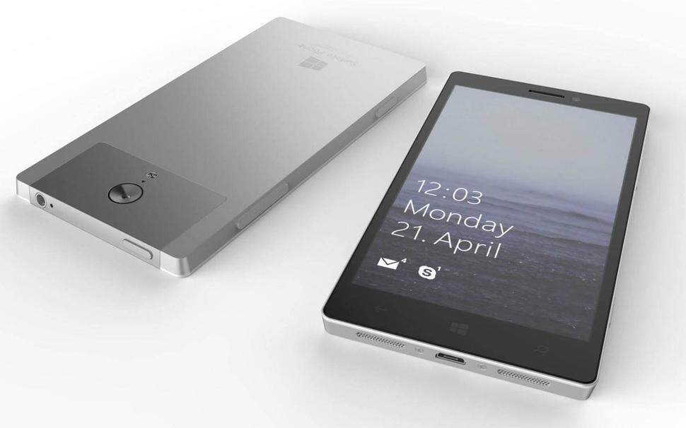 Surface Phone может получить встроенный в дисплей сканер отпечатков пальцев