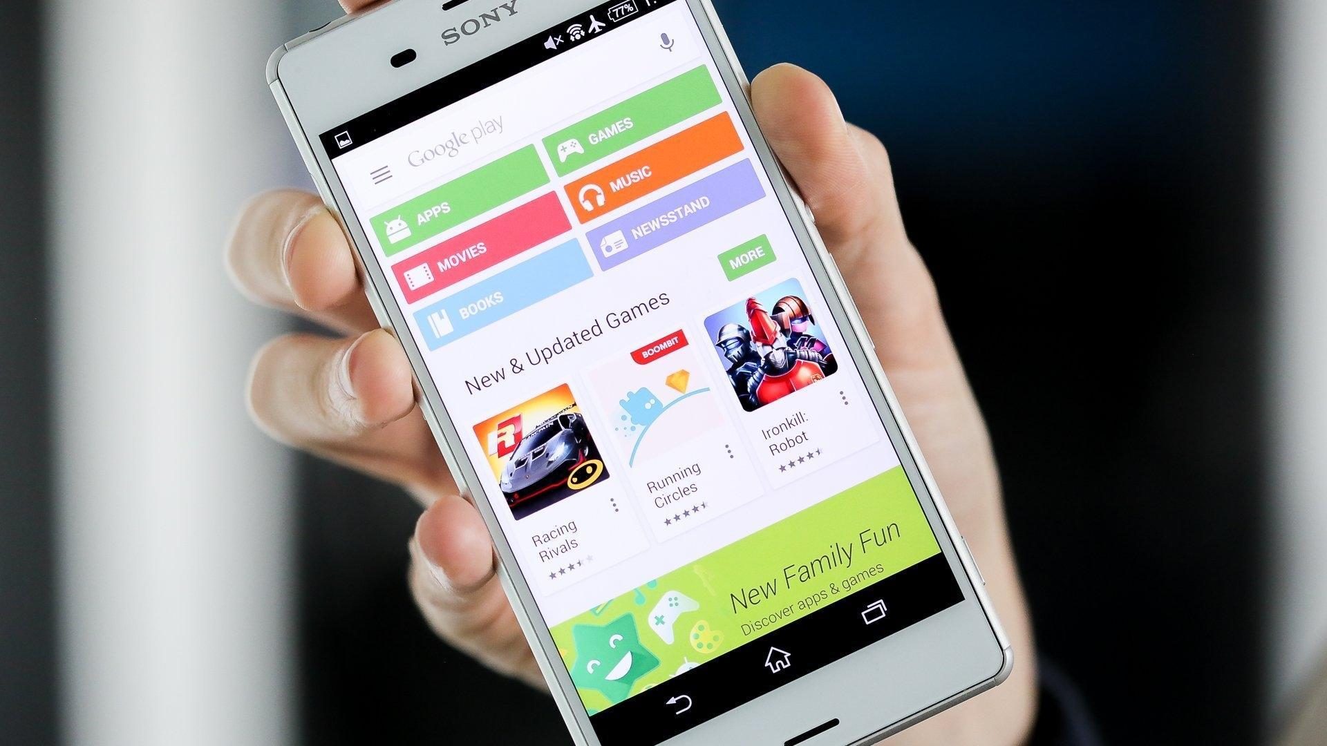 Приложения в Google Play опасны
