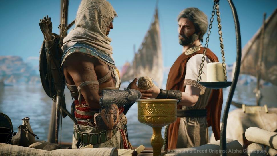 «Прожорливая» система защитыAssassin's Creed Origins– не взломать и не поиграть