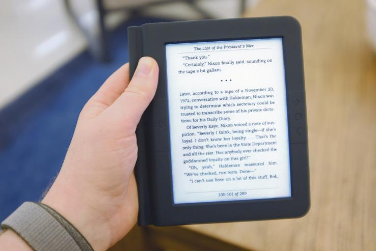 Bookeen Saga – мощная альтернатива Kindle