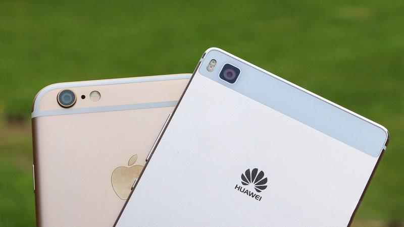 Huawei и Apple сравнялись по количеству проданных смартфонов