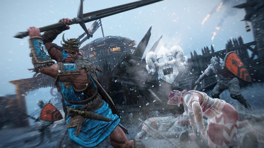 Зимнее обновление для For Honor – битвы на льду!
