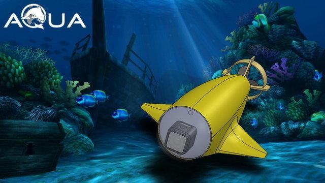 aQuaROV–подводный дрон нового поколения