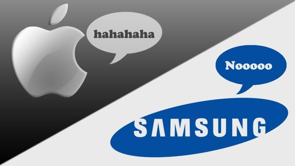 Новая битва Samsung и Apple