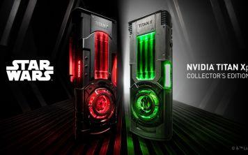 Nvidia Titan Xp в стиле Звездных Войн