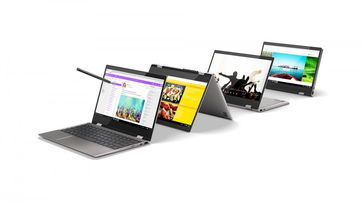 Lenovo представила новые ноутбуки Yoga 720