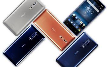 Новый флагман от перерожденной компании: Nokia 8