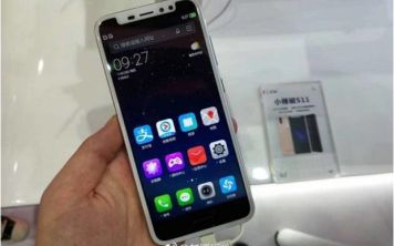 Свободная интерпретация Iphone X от Xiaolajiao