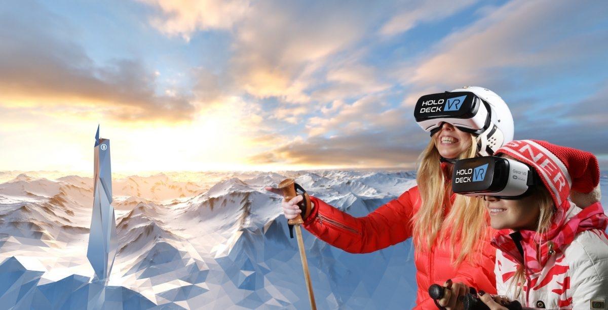 Виртуальная реальность Holodeck VR вместит в себя до 100 человек