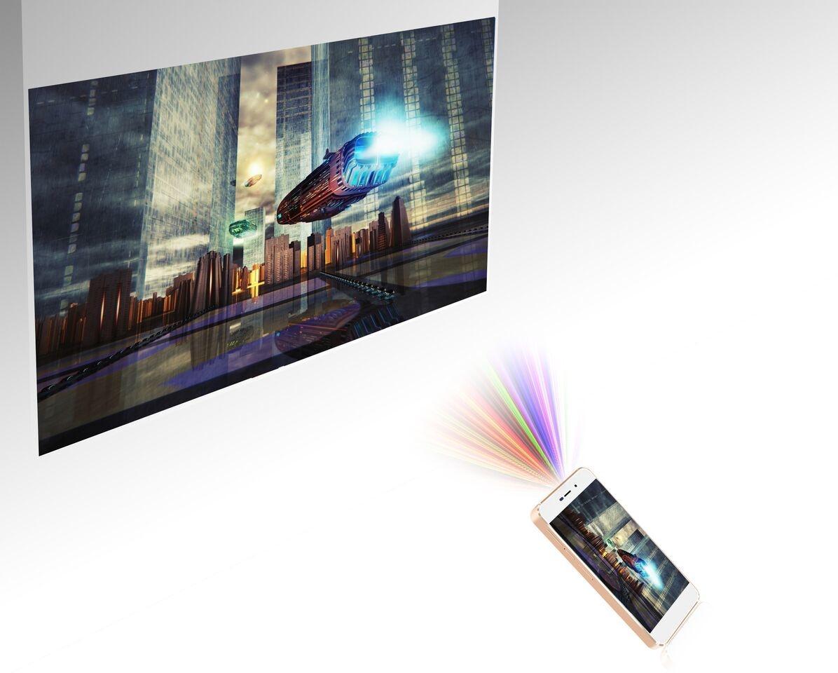 Thomson Fusion – новый смартфон со встроенным лазерным проектором