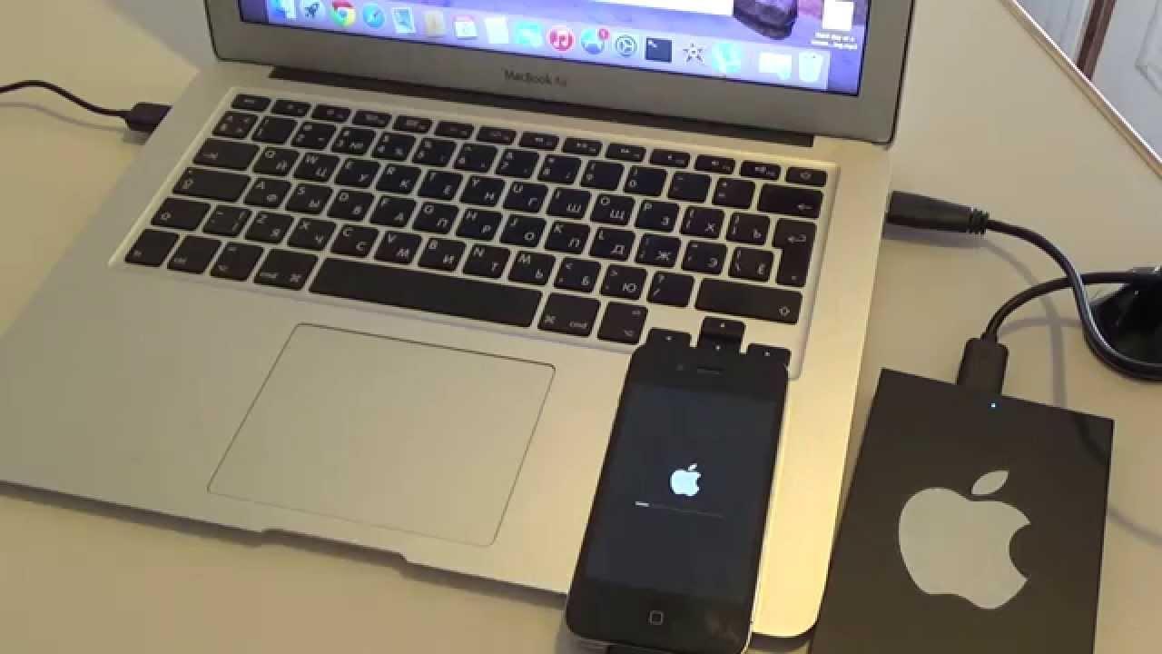 Как перепрошить айфон 4s самому?