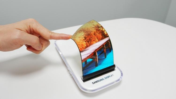 Samsung поделились конструкцией Galaxy X