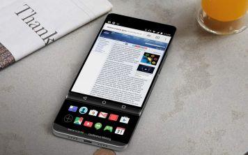 Смартфон LG V30 получил обновленный интерфейс