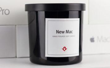 Свечки с запахом новых продуктов Apple стоят 24 доллара.