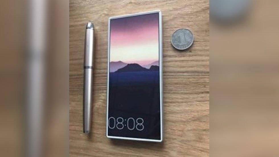 Показан первый безрамочный смартфон