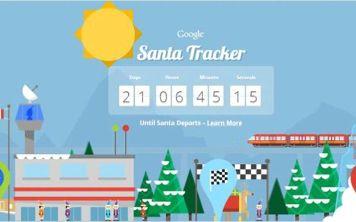Вышло обновление для Santa Tracker от Google