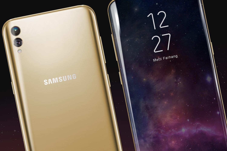 Безрамочный Samsung с «вырезом» экрана