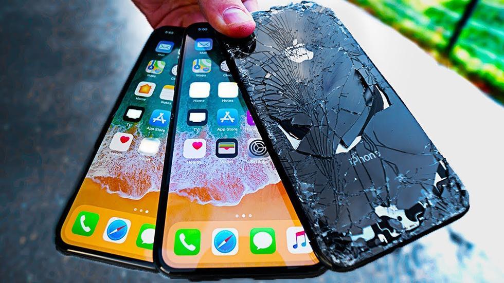 iPhone X был признан самым хрупким смартфонов компании