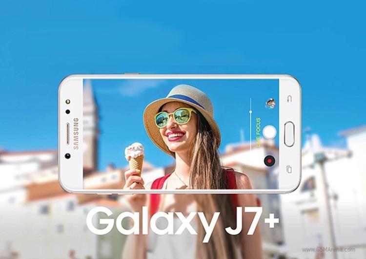 Samsung анонсировала выход нового флагмана Galaxy J7+