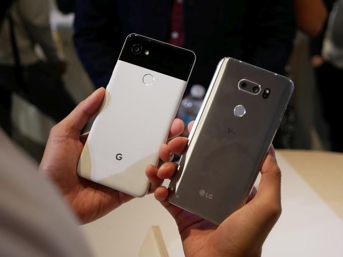 Что лучше LG V30 или Google Pixel 2