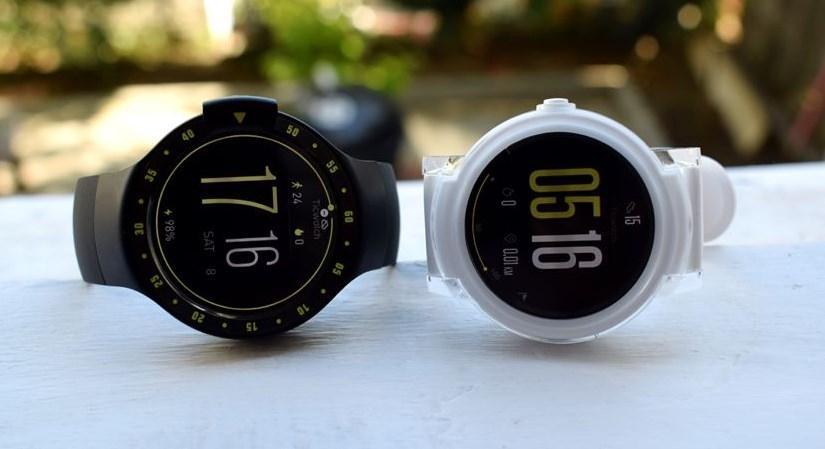 Ticwatch E - стильные часы для спорта