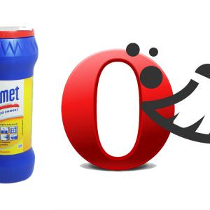 Как почистить кэш в браузере опера?