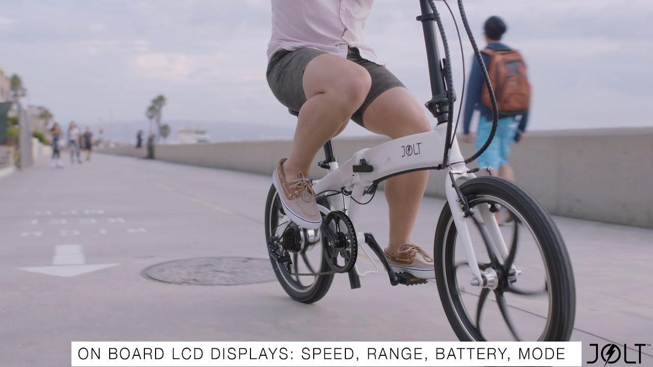 Jolt – первый бюджетный электрический велосипед