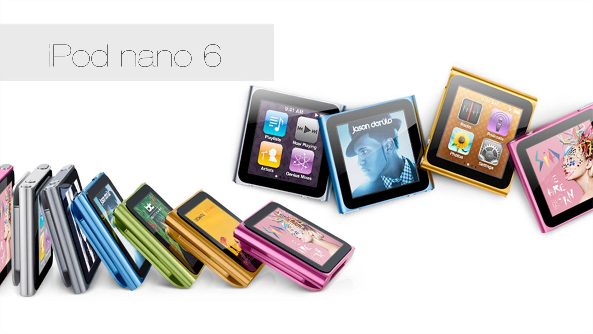 Apple перестала ремонтировать iPod Nano 6