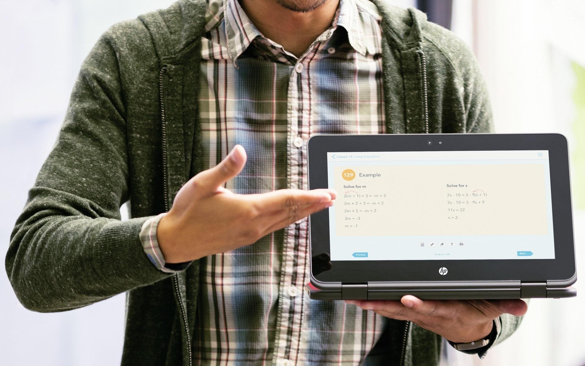 HP выпустила специальный ноутбук для школьников