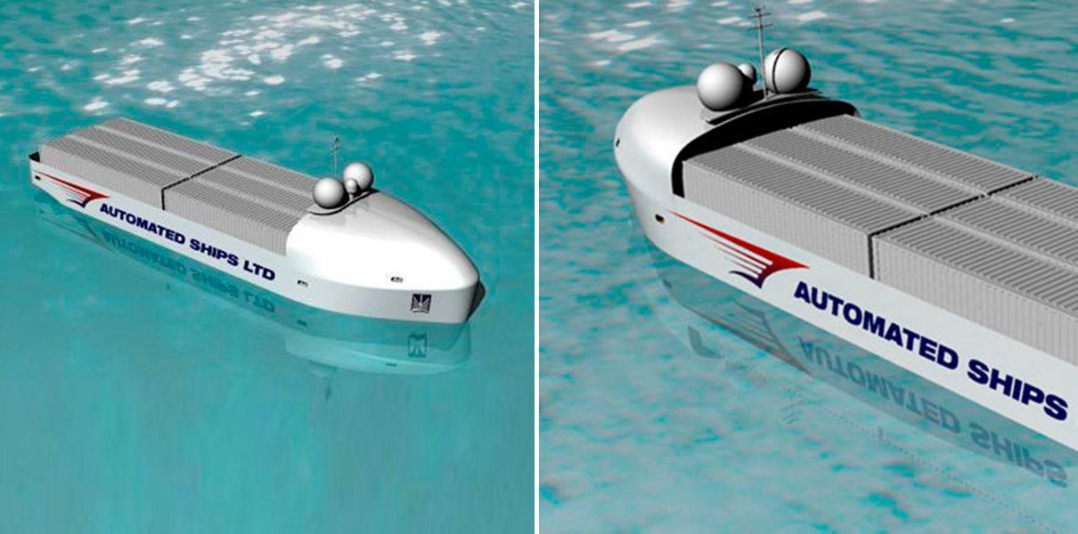 Когда беспилотные корабли будут бороздить просторы океана
