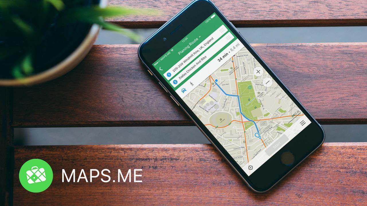 Обновление MAPS.ME: умная загрузка карт и быстрое построение маршрутов