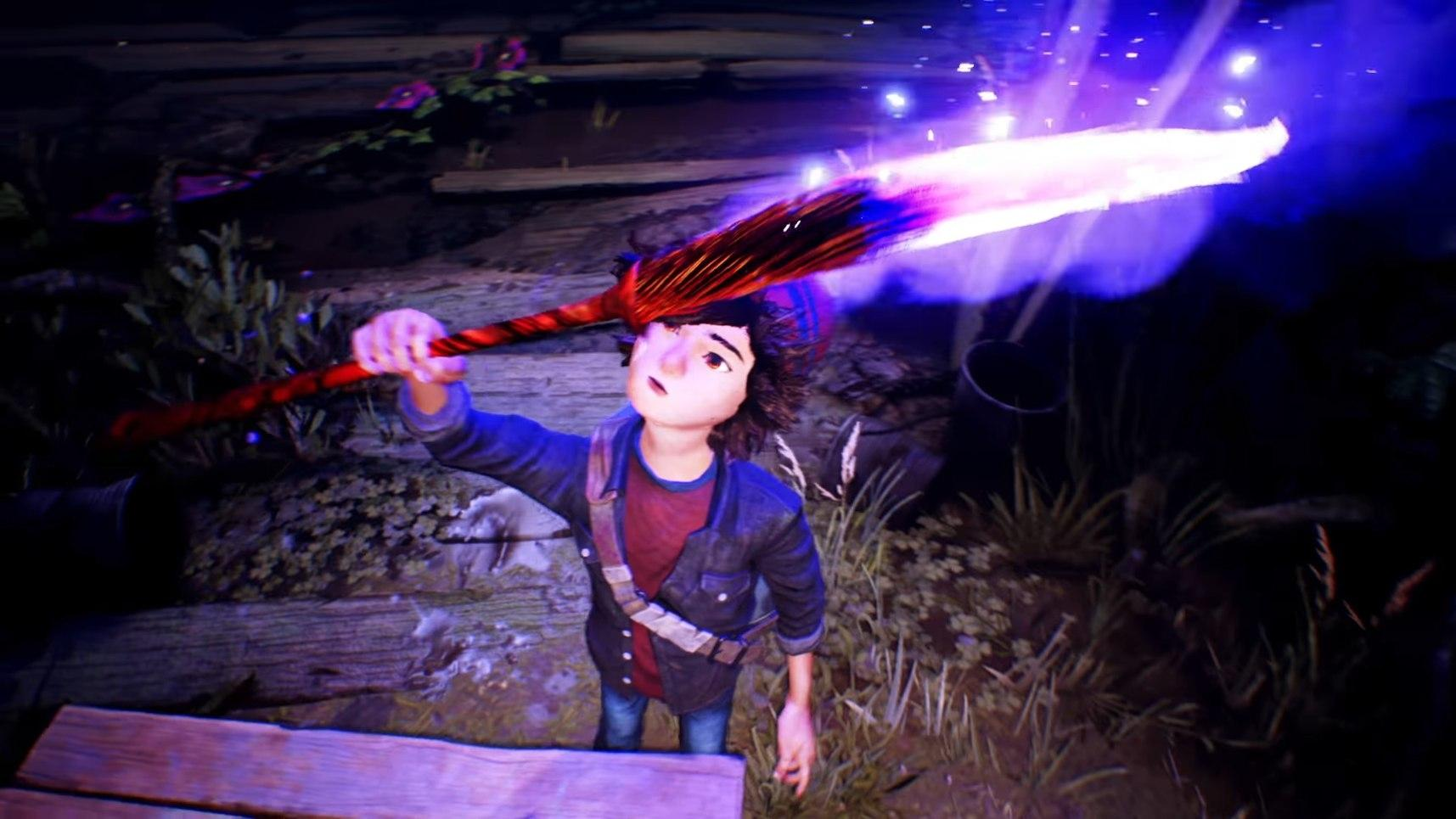 Красочная Concrete Genie – самая оригинальная игра 2018 года