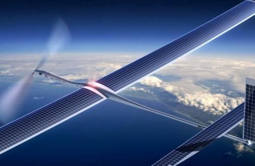 Беспилотники для раздачи интернета от Facebook и Airbus