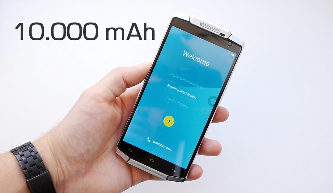 Ударостойкие и водонепроницаемые смартфоны Oukitel с батареей на 10000 мАч