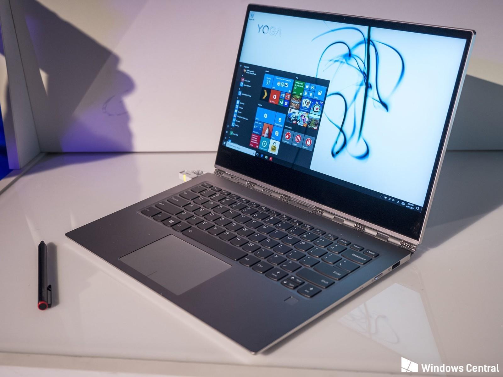 Lenovo Yoga 920 – мощный, стильный и просто удобный