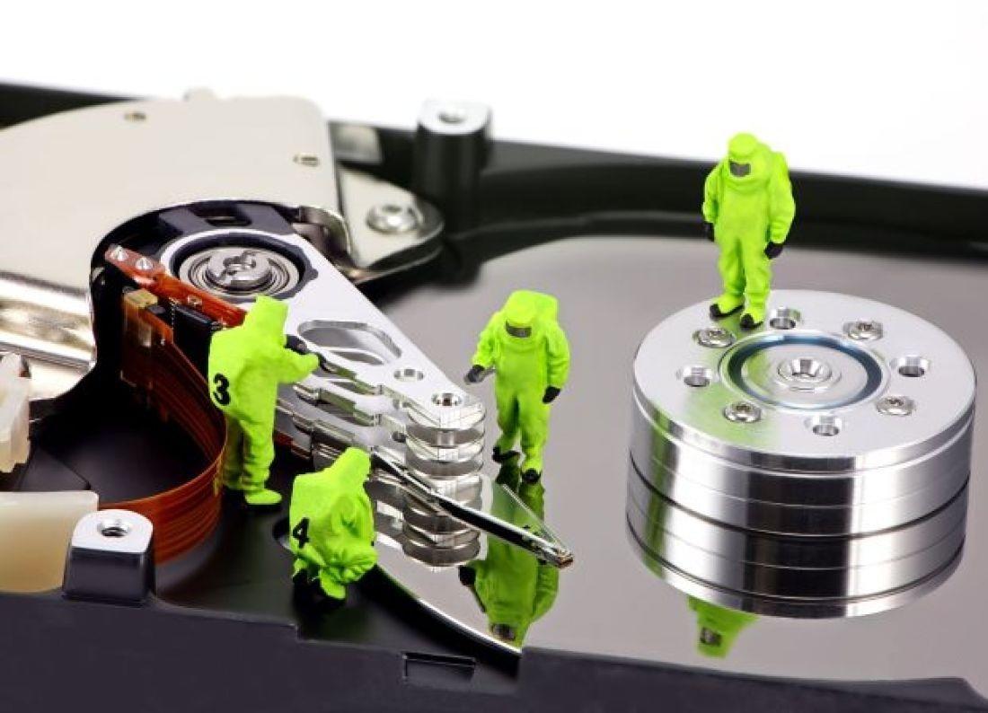 Как удалить разделы на жестком диске?