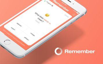 «Remember» - приложение для запоминания иностранных слов