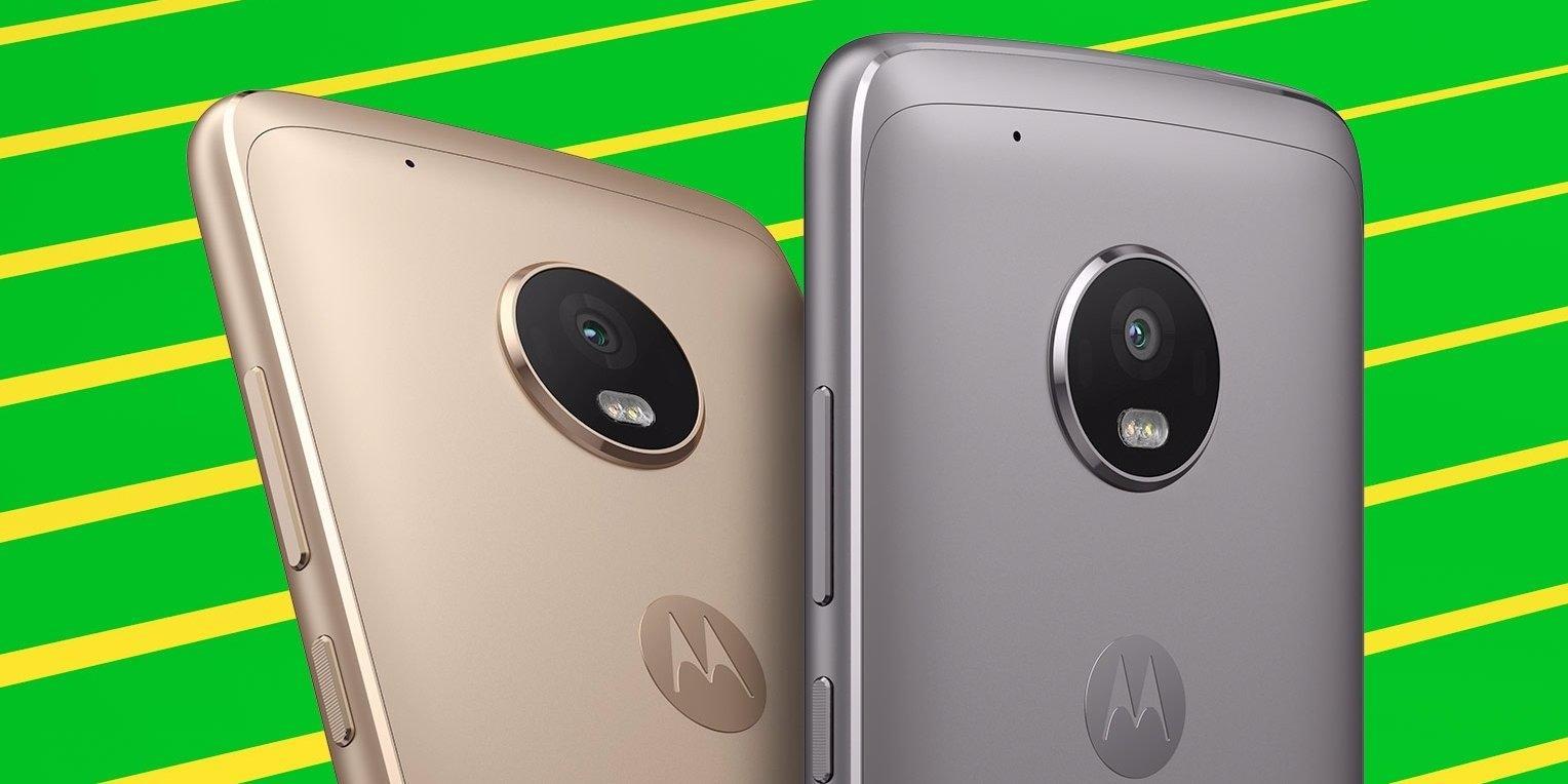 Moto G5 Plus - поворотный телефон в линейке Motorola