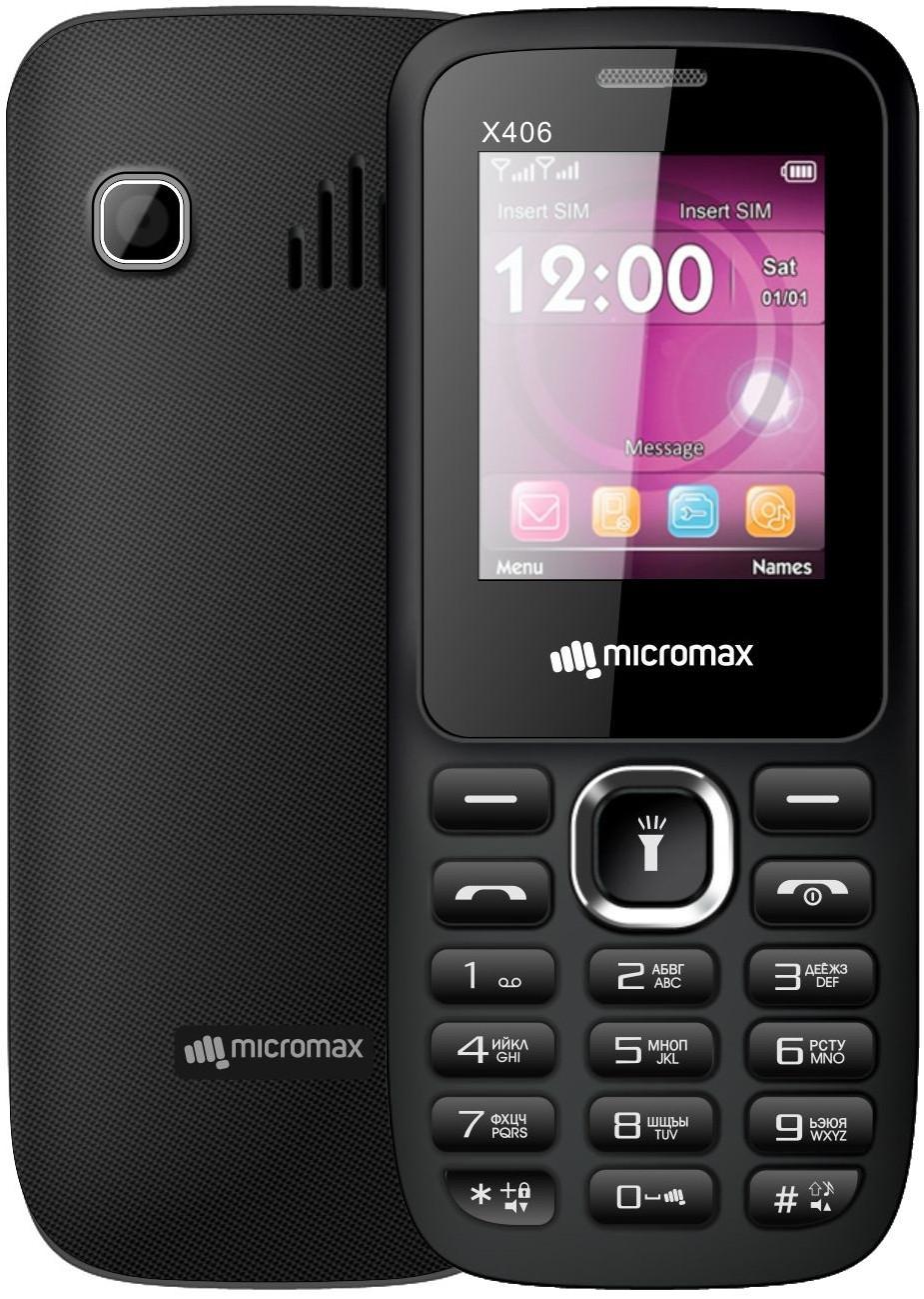 Micromax X406. Позвонить, сфотографировать и немного посидеть в интернете