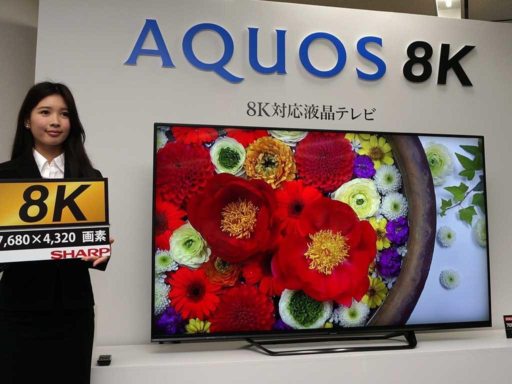 Новинки IFA: японский телевизор за десять тысяч долларов от Sharp