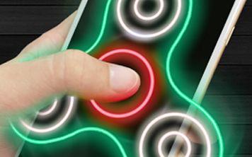 Fidget Spinner — лучший симулятор спиннера для Android